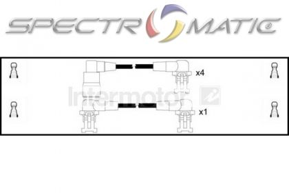 spectromatic ltd  73163 ignition cable leads kit renault