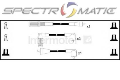 spectromatic ltd  73174 ignition cable leads kit fiat strada uno