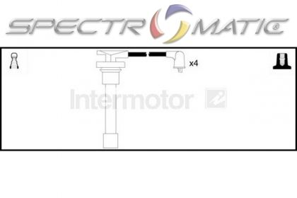 spectromatic ltd  73378 ignition cable leads kit honda