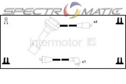 spectromatic ltd  73400 ignition cable leads kit suzuki baleno grand vitara swift 3370557b21