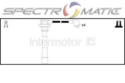 spectromatic ltd  73420 ignition cable kit mitsubishi carisma galant space wagon 4g92 4g93 4g63