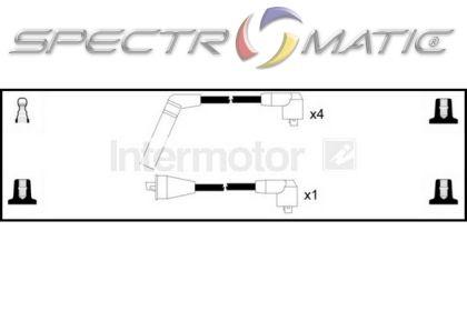 spectromatic ltd  73738 ignition cable leads kit mitsubishi l200 pajero g54b 4g54 vw lt ch