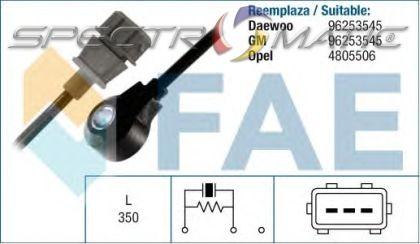 spectromatic ltd 60132 knock sensor chevrolet aveo kalos. Black Bedroom Furniture Sets. Home Design Ideas