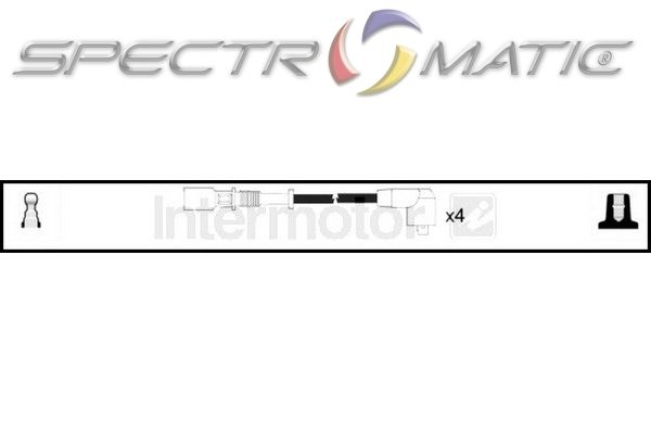 spectromatic ltd  73294 ignition cable kit fiat ciquecento