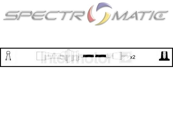spectromatic ltd  73987 ignition cable leads kit mazda 323