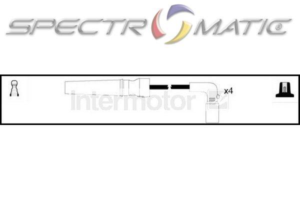 spectromatic ltd 76290 ignition cable kit leads chevrolet. Black Bedroom Furniture Sets. Home Design Ideas