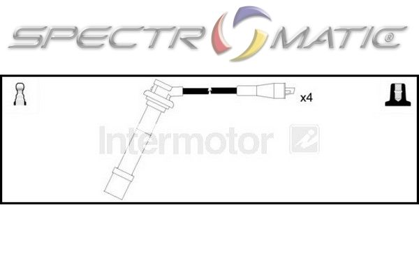 spectromatic ltd  76056 ignition cable leads kit suzuki