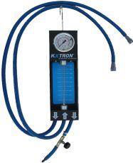 KVP fuel pressure and delivery tester