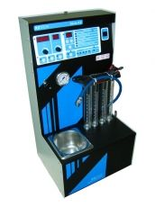 KX494e fuel injectors cleaning and testing machine