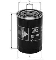 OC 196 - oil filter