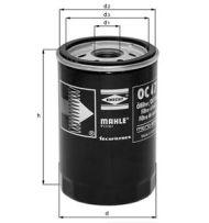 OC 21 OF - oil filter