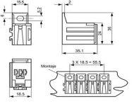 ZA 1 Conector Micro Relays