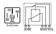 RLPS/52-24D-relay, 22/10A, 24V