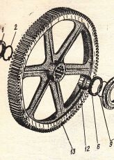 307-6А-1А  Зъбно колело  Э-2503