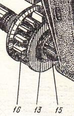 313-3А-6А  Зъбчатки  (кремальорни) eднобордни  Э-2503