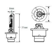 66450 D4R 35W/12V OSRAM лампа