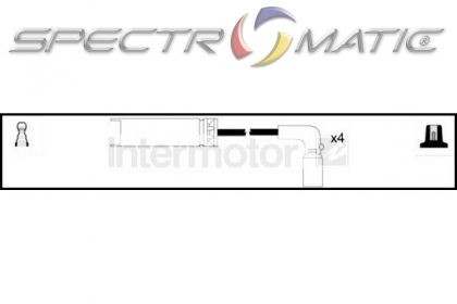 spectromatic ltd  76053 ignition cable leads kit daewoo
