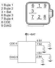 Relays on wiring diagram for 7 3 glow plug relay