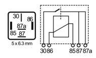 RLPS/5-24D-relay, 22A/24V