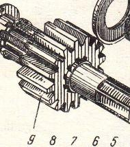 313-12-2  Зъбно колело  Э-2503